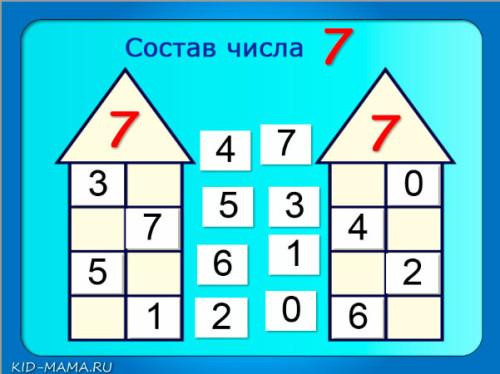 состав-числа-7-числовые-домики