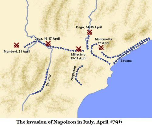 karta-nachala-italyanskoj-kampanii
