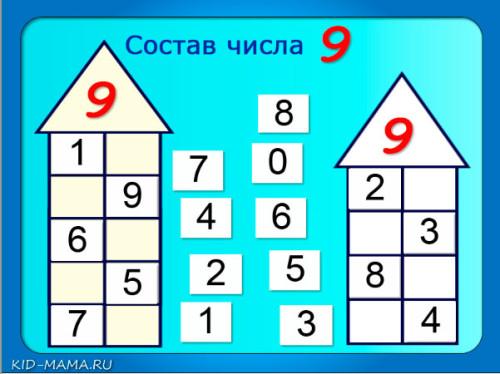 состав-числа-9.-числовые-домики