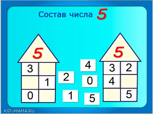 числовые-домики