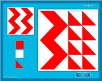 Мозайка треугольники