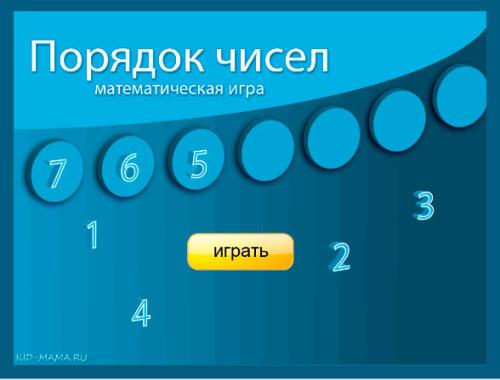 порядок-чисел