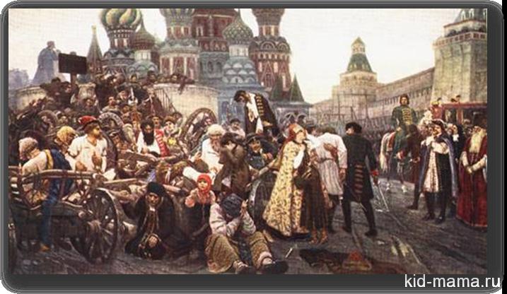 Утро стрелецкой казни Суриков В.И.