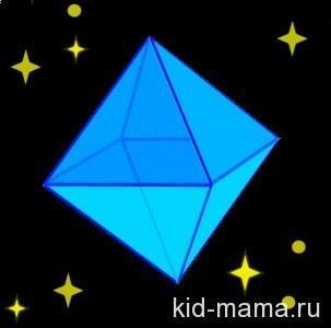 5 спичек - 5 треугольников.