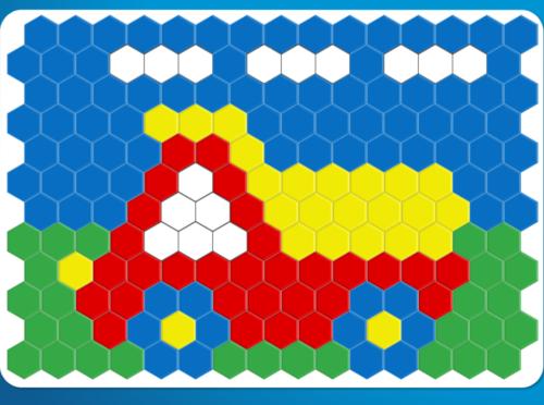 Мозаика. Онлайн игра для малышей